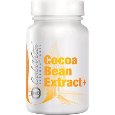 Cocoa Bean Extract Calivita flacon cu 100 drajeuri
