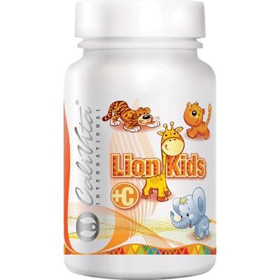 Lion Kids C Calivita flacon 90 tablete