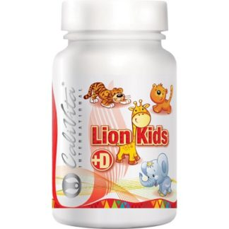 Lion Kids Vitamina D Calivita flacon cu 90 tablete masticabile