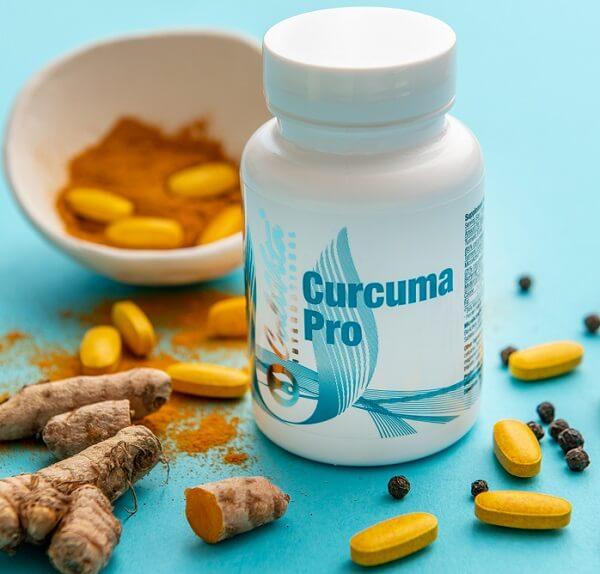 flacon curcuma pro calivita, tablete curcuma pro, pudra curcuma longa (turmeric), boabe de piper negru