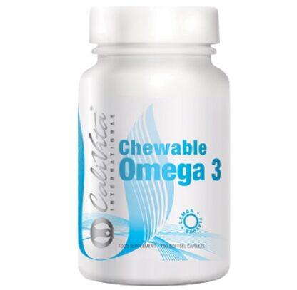 omega 3 calivita 100 capsule masticabile