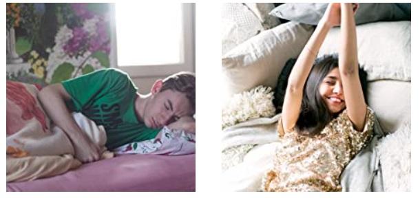 beneficii melatonina baiat doarme adanc, fata revigorata de dimineata