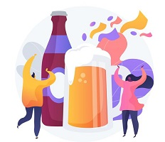 tineri consuma alcool