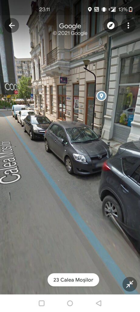 Adresa Google Maps Calivita Bucuresti Universitate Calea mosilor 21
